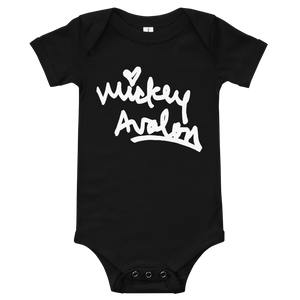 Signature Logo Onesie (Black)