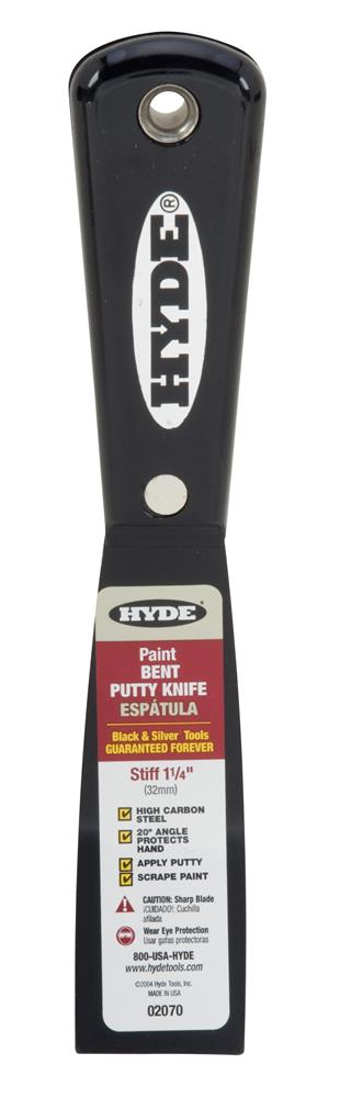 Hyde Bent Putty Knife 1-1/4in