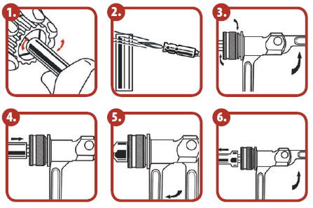 Imperial Tube Expander - Xpandr™ Swaging / Expanding Kit 175-ex visual guide