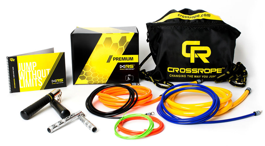 The Next Big Thing is Here: The Jump Rope Fitness System from Crossrope