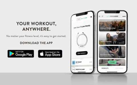 Crossrope Jump Rope Training App for Android and Apple