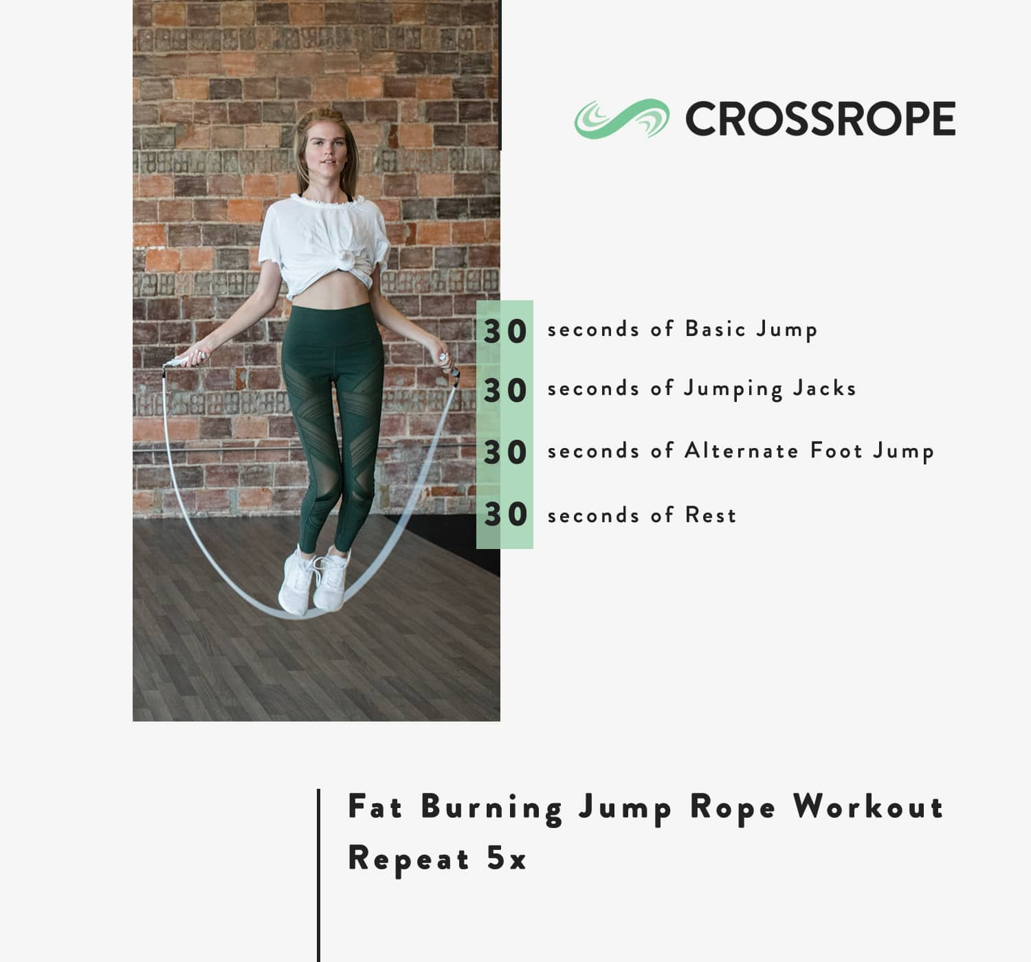 fat burning jump rope workout