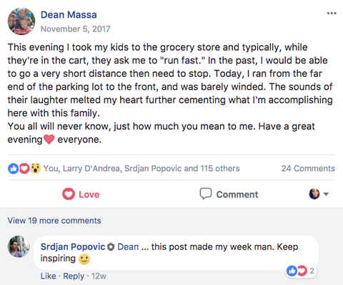 Dean Massa Facebook Post #4