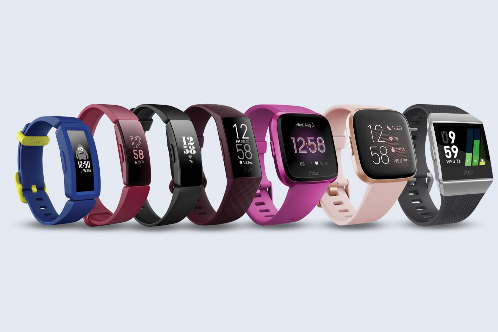 Fitness Gift Guide Fitbit generation devices