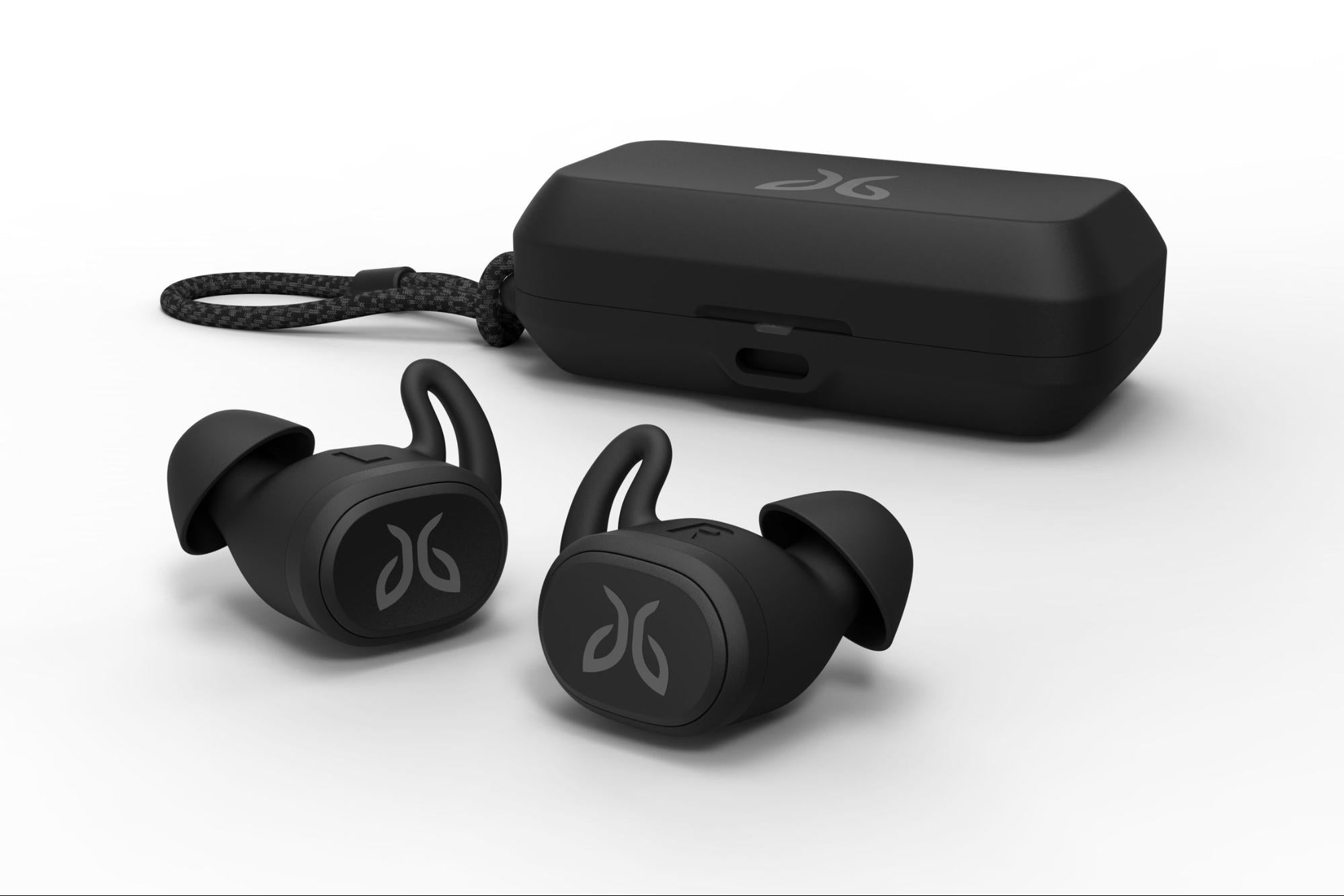 Fitness Gift Guide Black Jaybird Vista Sweatproof headphones