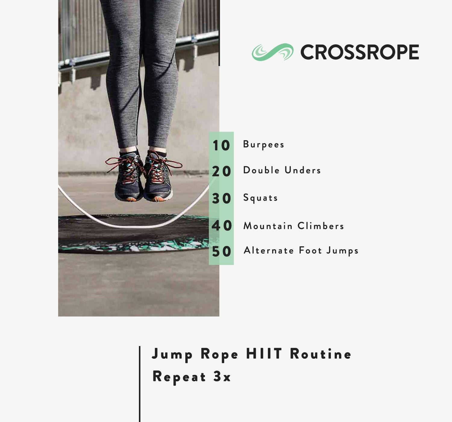 jump rope routine HIIT
