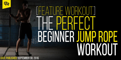 Perfect beginner jump rope workout