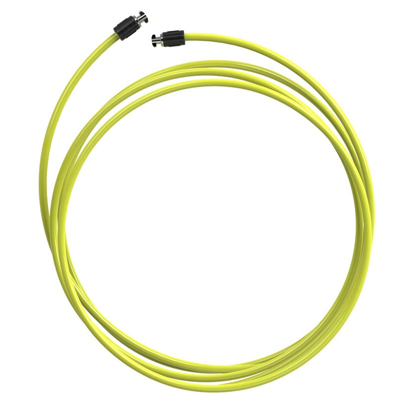 A coiled view of the 3 oz Speed Rope