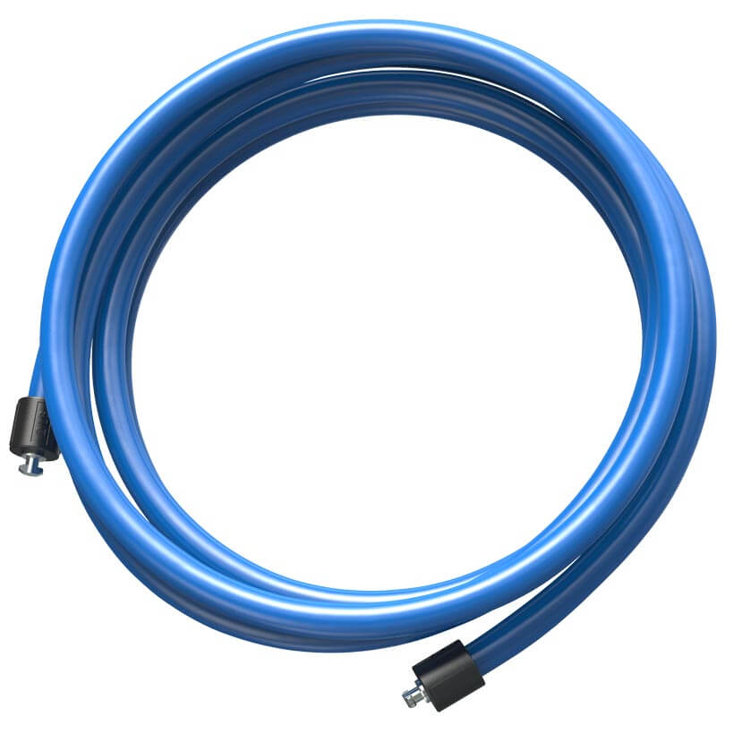The blue 2 LB Speed Pro LE rope on an orange background