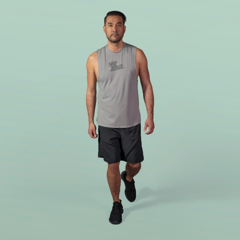 Men's We Jump Tank Front View