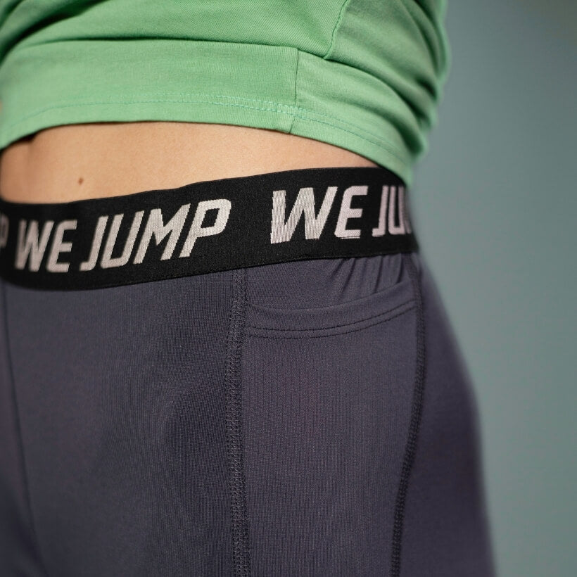 Women's We Jump Tights Waist Logo