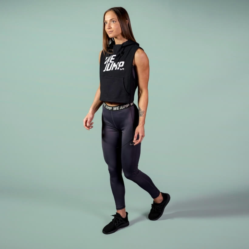 Women's We Jump Tights Front View