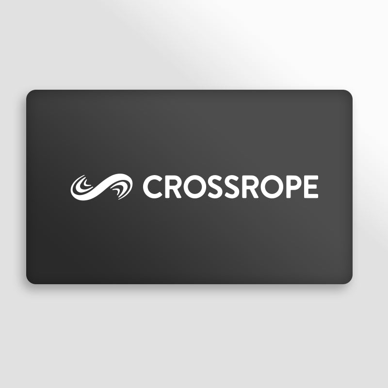 Crossrope gift card in black