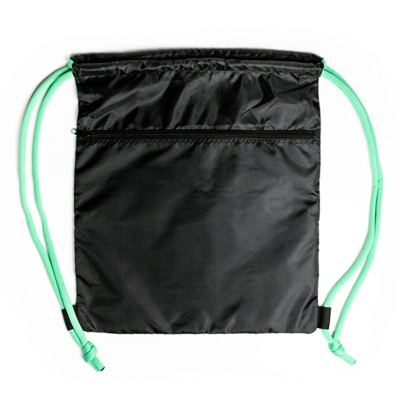 A back view of the Jump Rope Workout Bag