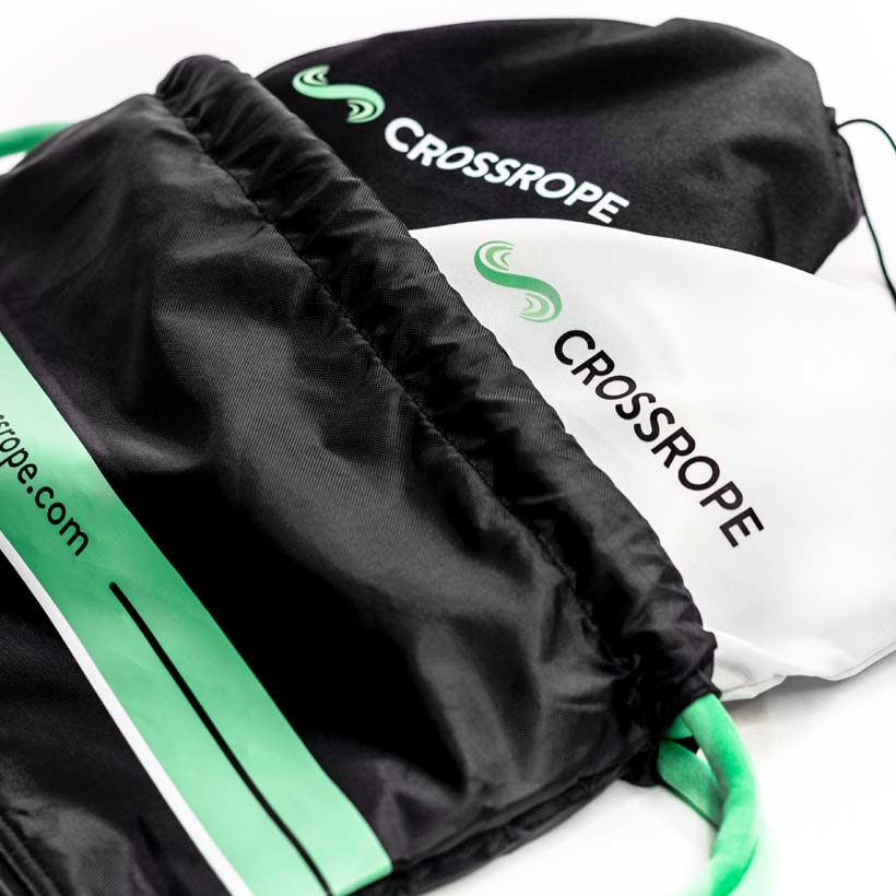 A detailed view of the Jump Rope Workout Bag