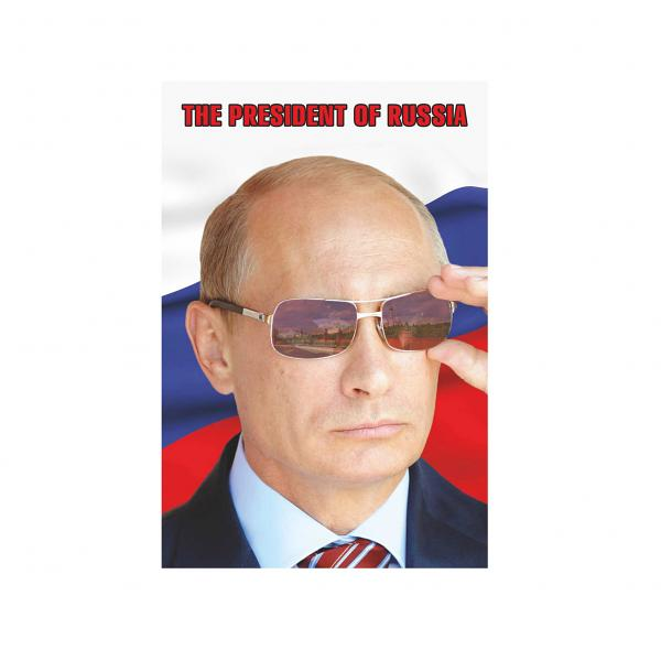 "The President of Russia Vladimir Putin Magnet (small), 2.5"" x 2"""