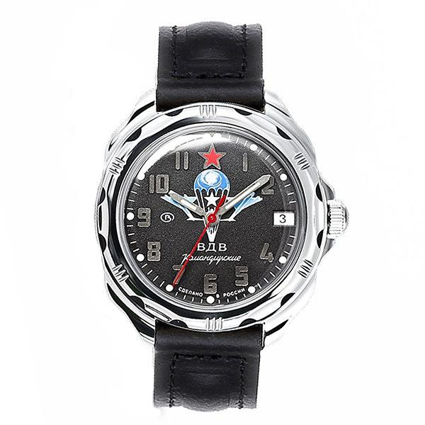 Vostok Komandirskie Military Russian Mechanical Watch Commander Paratrooper VDV (211288)