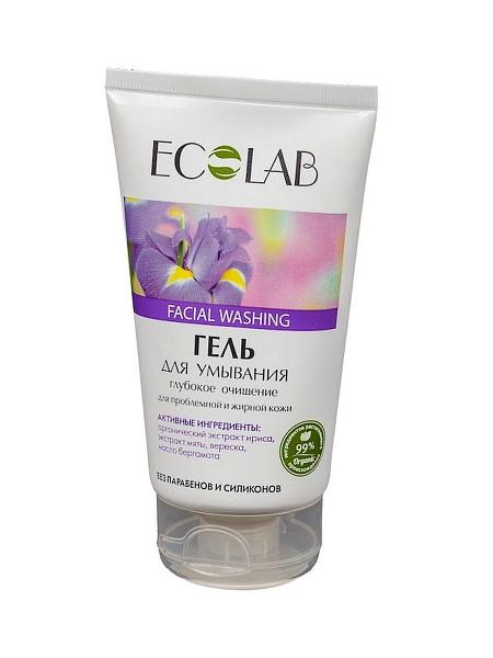 Facial Washing Gel deep cleansing for problem-prone and oily skin, 5.07 oz / 150 ml