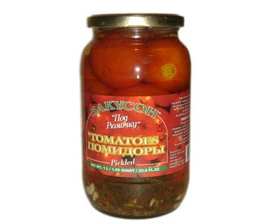 Pickled Tomatoes Zakuson, 33.81 oz/ 1 liter