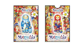 "Set of Plastic Cards ""Matryoshka""/900-34"