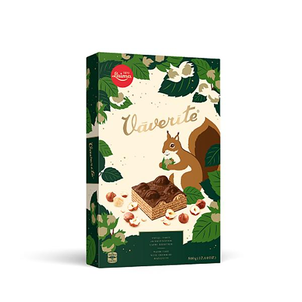 Squirrel Chocolate Wafer Cake, 12.35 oz / 350 g