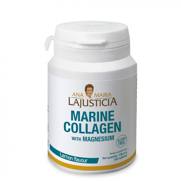 MARINE COLLAGEN WITH MANGESIUM FOR 30 DAYS 180 Tab