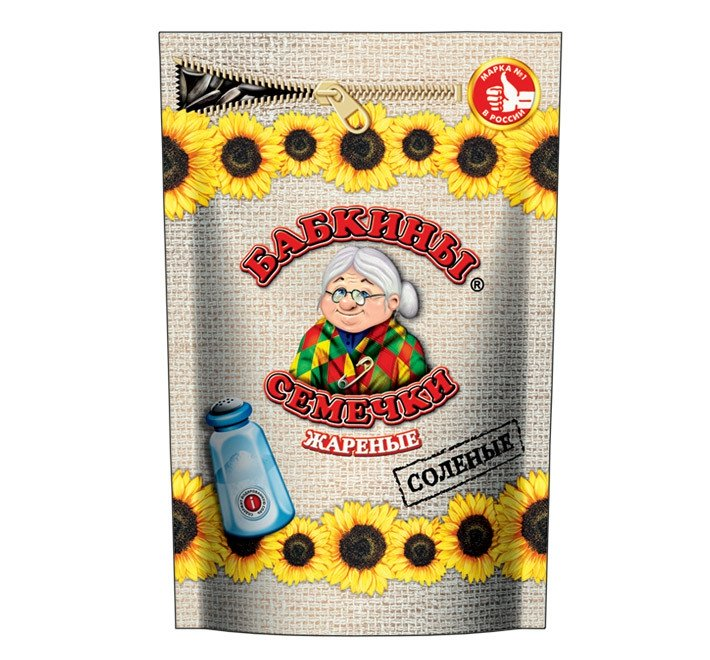 Roasted Salted Sunflower Seeds Babkini, 10.58 oz / 300 g
