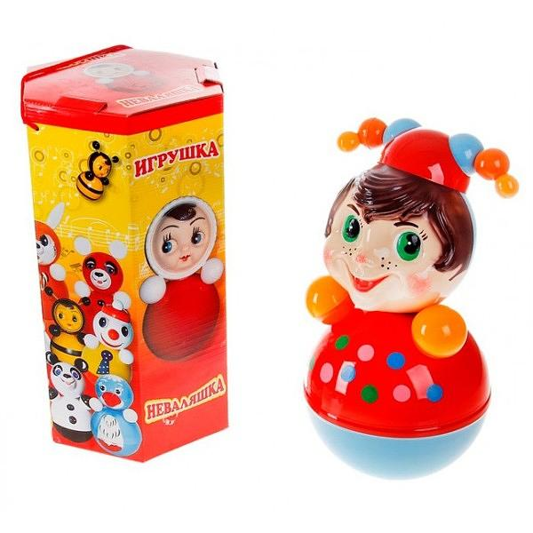 "Roly-Poly Toy Clown, 7.8""x7.8""x15.7"" (016)"