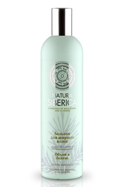 "Hair Balm ""Volume & Balance"" for Oily Hair with Pine and Arctic Raspberry, 13.52 oz/ 400 Ml"