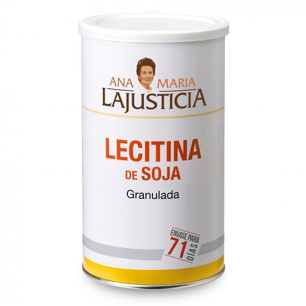 LECITHIN SOYA NO GMO 71 DAYS | GRANULES 500gr