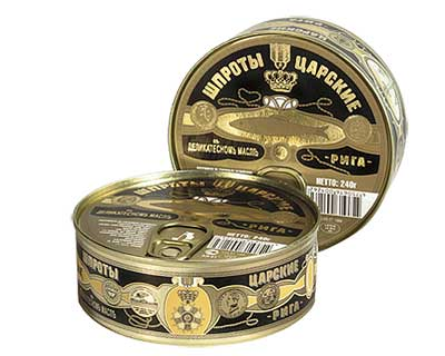 Royal Sprats in Oil, 8.47 oz / 240 g