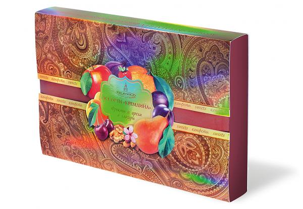 "Assorted chocolates ""Fruits and nuts in chocolate""  500g"