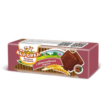 "Cookies ""Korovka"" with Chocolate Flavor, 13.2 oz / 375 g"