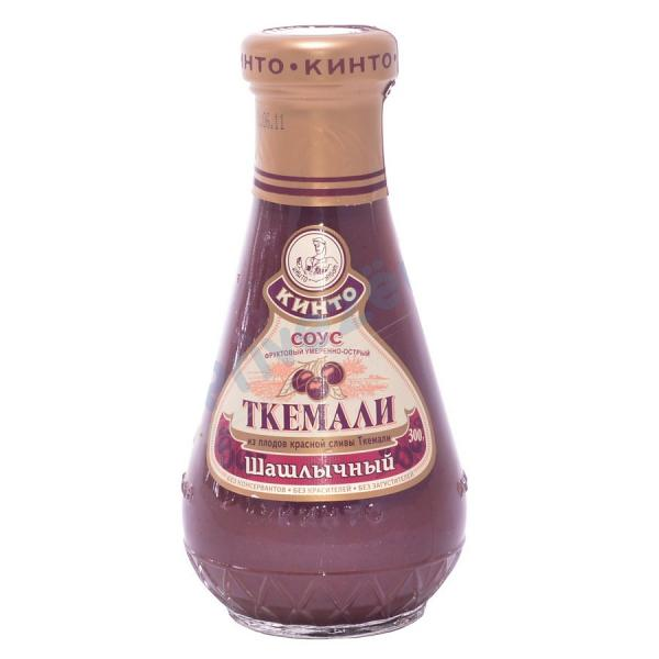 Moderately Spicy Georgian Tkemali Sauce for Shashlik (KINTO), 10.58 oz / 300 g