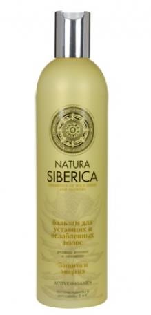 "Hair Balm ""Protection & Energy"" for Tired and Weak Hair with Rhodiola Rosea and Schisandra, 13.52 oz/ 400 Ml"