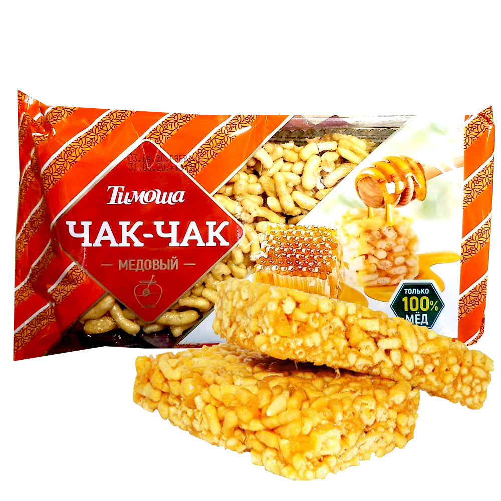 Oriental Sweet Dessert Chak-Chak with Honey, 250 g