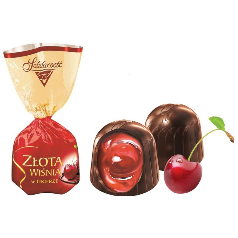 "Chocolate Candy ""Cherry in Liqueur"", 0.5 lb / 0.22 kg"
