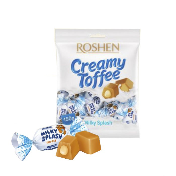 Toffee Candy Milky Splash, 0.33 lb/ 150 g