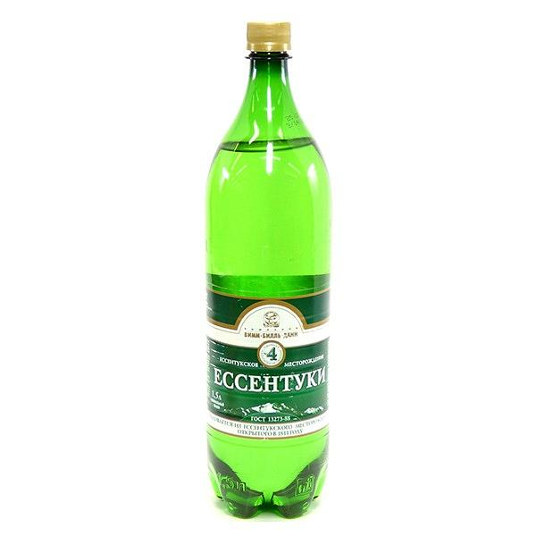 Mineral Water Essentuki #4, 50.72 fl oz / 1.5 liter