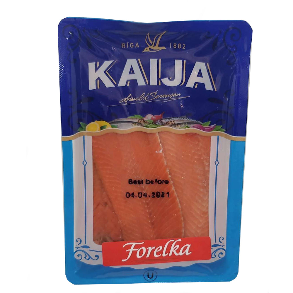 Lightly Salted Herring - Forelka Fillet, Kaija, 1.1 lb/ 500 g