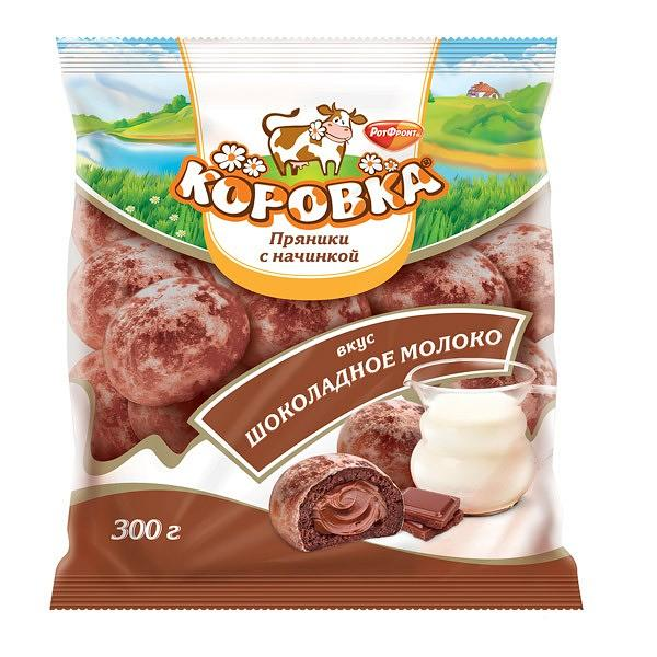"Soft Gingerbread ""Korovka"" with Chocolate Milk Flavor, 10.58 oz / 300 g"