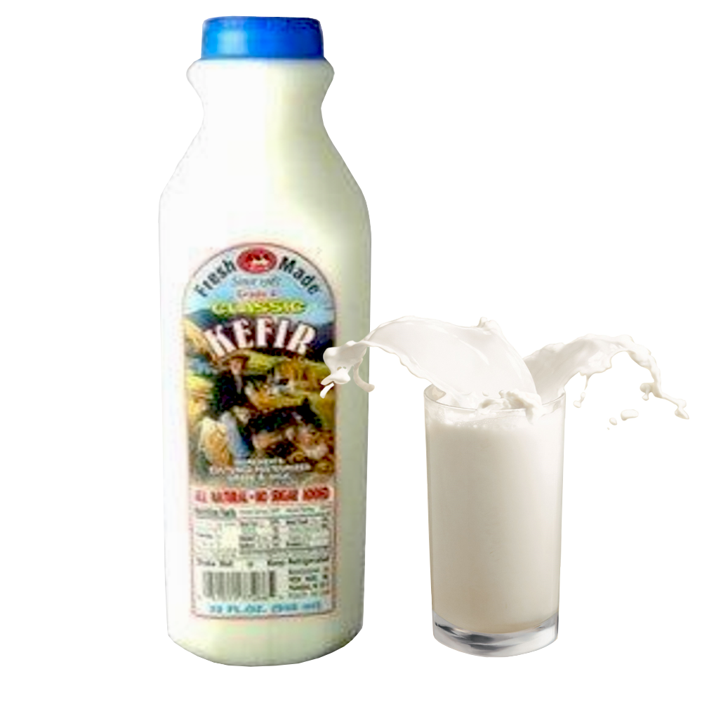 Classic Natural Kefir, Fresh Made, 32 oz / 0.94 L