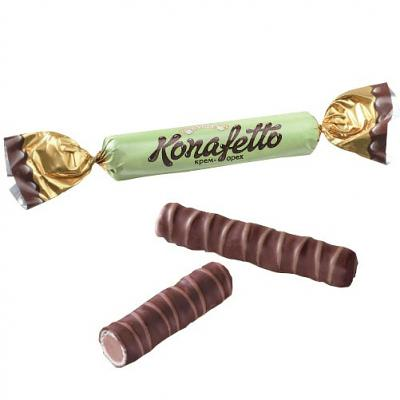 "Chocolate Candies Roshen ""Konafetto"" Cream Nut, 0.5 lb / 0.22 kg"