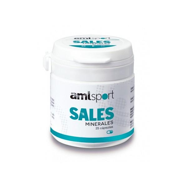 MINERAL SALTS by Ana Maria Lajusticia  - 25 Capsules