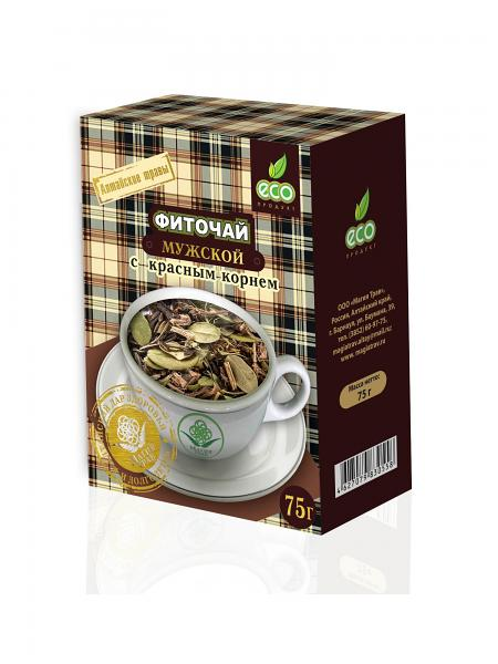 Herbal Phyto Tea for Men with Red Root, 2.64 oz / 75 g