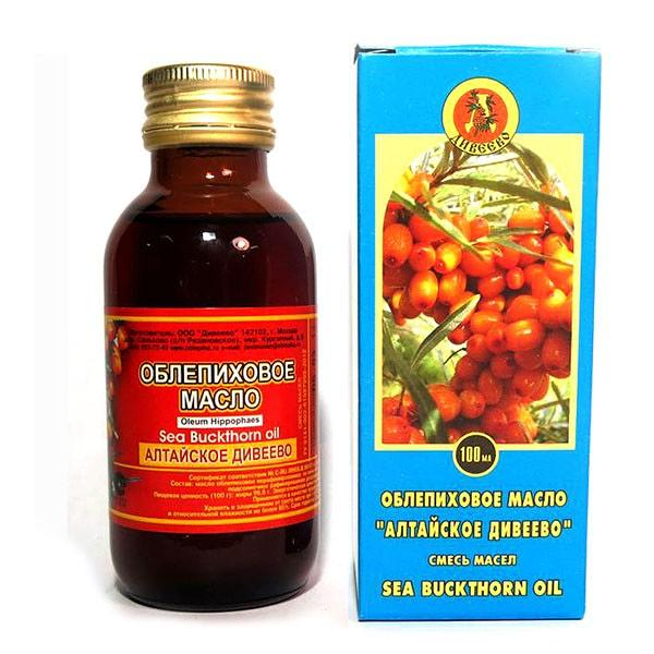 Diveevo Sea Buckthorn Oil, 3.5 oz / 100ml