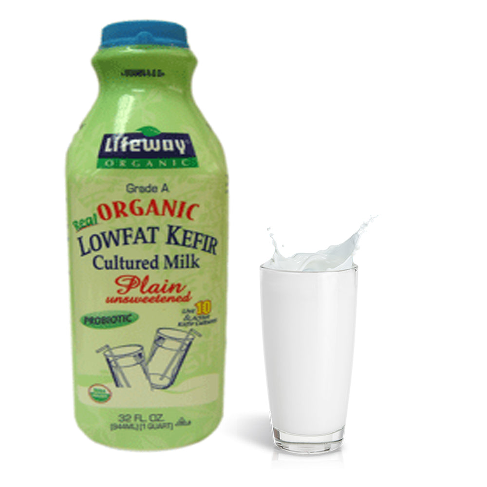 Lifeway Low Fat Kefir Plain Unsweetened, 32 oz / 0.94 L