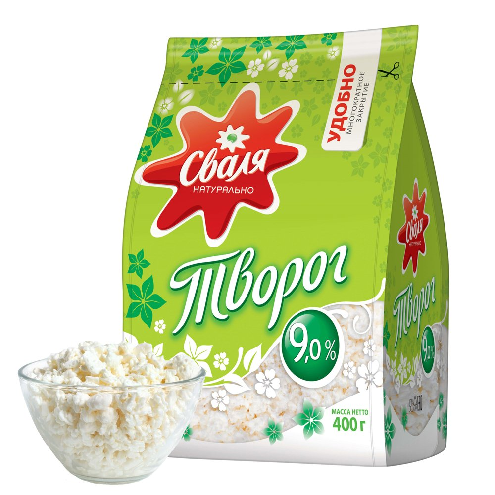 Cottage Cheese 9% Fat Content, 370g
