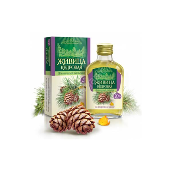 Pine Nut Oil Enriched with Pine Resin 20%, 3.5 fl oz / 100 ml