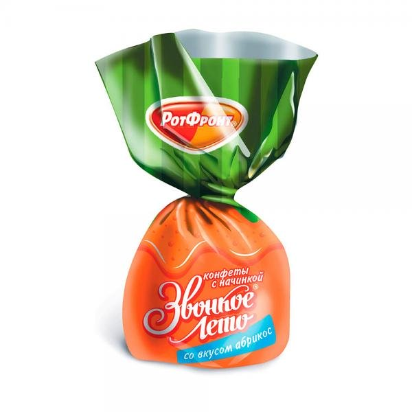 "Jelly Candies with Apricot ""Zvonkoe Leto"", 8.8 oz / 250 g"